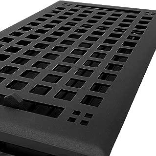 Madelyn Carter Artisan Flat Black Vent Covers (Steel) 6