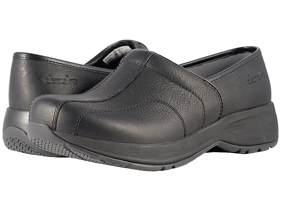 Dansko Shaina (Black Tumbled Pull Up) Women