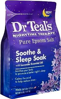 Dr Teal's Epsom Salt Bath Soaking Solution - Soothe & Sleep (Lavender) - 4 lb