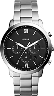 Fossil Neutra Chrono Men's Black Dial Stainless Steel Analog Watch - FS5384