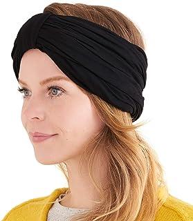 Charm, Diadema Turbante Mujer Grueso - Pañuelo Cabeza Abrigo Invierno Sombrero de Quimioterapia Cabello Natural