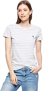 Polo Ralph Lauren Top For WOMEN, GRY/WHT XS