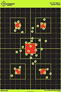 "12""x18"" Sight in Splatterburst Target – Instantly See Your Shots Burst.."
