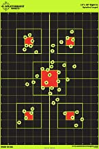 """بینایی 12 """"x18"""" در Splatterburst Target - فوراً عکسهایتان را ببینید که پشت سر زرد روشن فلورسنت پشت سر هم هستند!"""