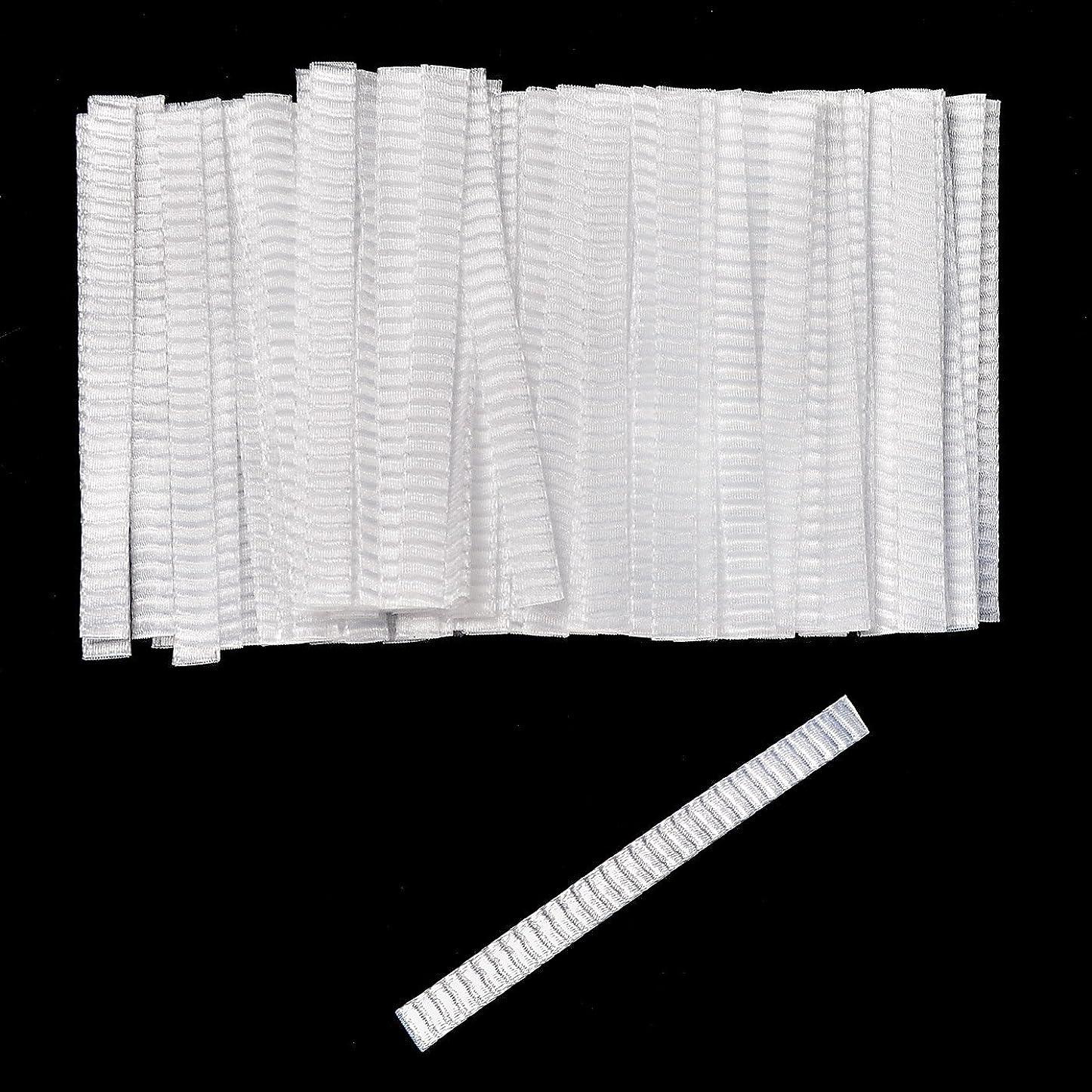 深い良い麻痺させる100個 化粧ブラシ メッシュネット カバー 分岐を防ぐ 防塵 ブラシ保護 弾性力強い