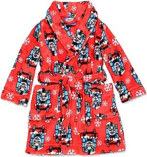 Thomas and Friends Toddler Boys Plush Fleece Bathrobe