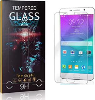 The Grafu Screen Protector for Galaxy A7 2016, 9H Hardness, High Transparency, Anti Scratch Tempered Glass Screen Protecto...