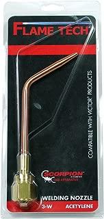 WeldingCity Welding Brazing Nozzle Tip 6-W-1 #6 with W-1 Mixer for Victor 100 Series Handles