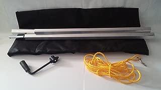 Buyers Products Dump Tarp Roller Kit - 5ft. x 12ft. Mesh Tarp, Model Number DTR5012