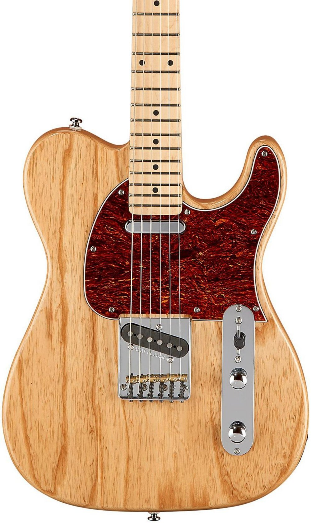 Cheap G&L Limited Edition Tribute ASAT Classic Ash Body Electric Guitar Gloss Natural Black Friday & Cyber Monday 2019