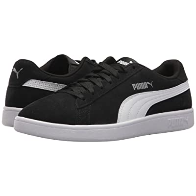 PUMA Smash V2 (Puma Black/Puma White/Puma Silver) Men