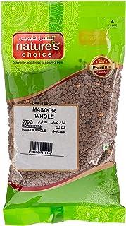 Natures Choice Masoor Whole - 500 gm