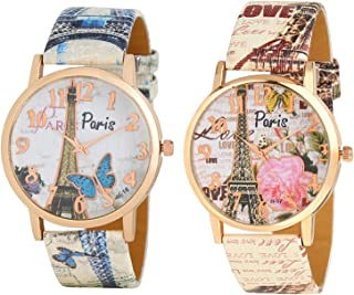 New Raiyaraj Embroidery Analogue Multicolour Dial Women's Watch Combo