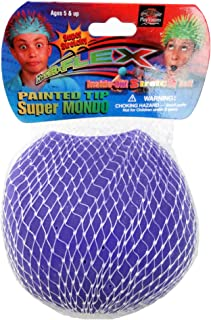 Super Mondo Spiky & Soft 2 in 1 Stretch Ball - Flip it back and forth from spiky to soft ball.