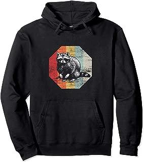 Retro Racoon Hoodie Trash Panda Raccoon