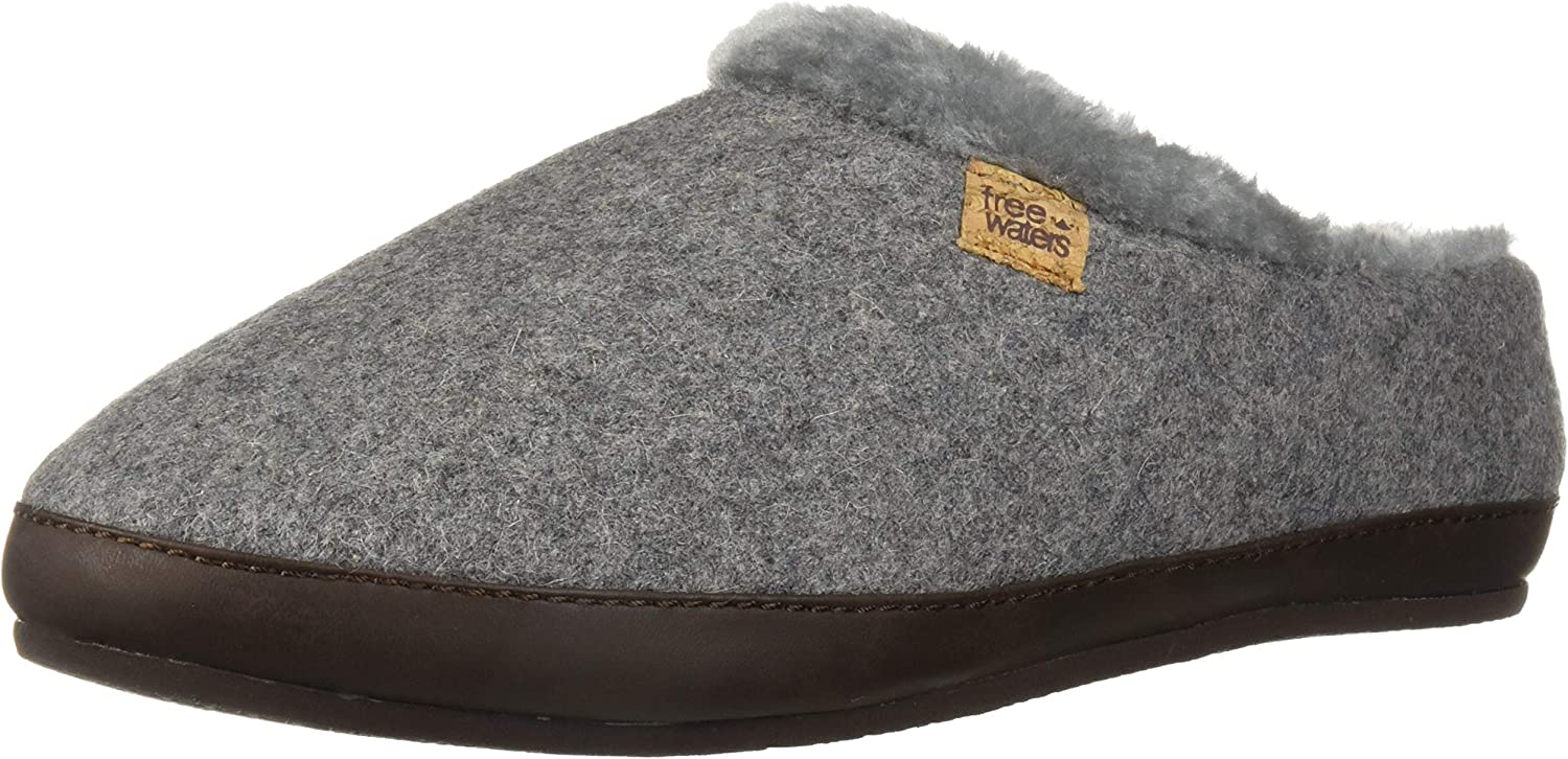 Freewaters Womens Chloe House shoes Slipper with Happy Arch Support and Durable Indoor Outdoor Sole Slipper