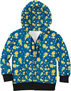 Rainbow Rules Orange Bird Disney Parks Inspired Kids Zip Up Hoodie Unisex