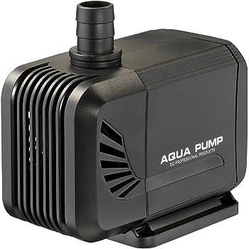 LNSTUDIO 水中ポンプ 吐出量1500L/H 最大揚程1.5M ミニポンプ 循環ポンプ 給水・排水ポンプ 潜水インストール 水族館給水 水槽水循環 静音設計 説明書付き (15W-1.6M)