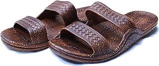 Kali Footwear Women's Jesus Hawaii Open Toe Double Strap Hawaiian Sandals Simple