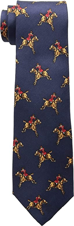 Equestrian Print Tie