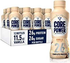 Core Power Protein Shakes (26g), Vanilla, No Artificial Sweeteners, Ready To Drink for Workout Recovery, 11.5 Fl Oz (Pack ...