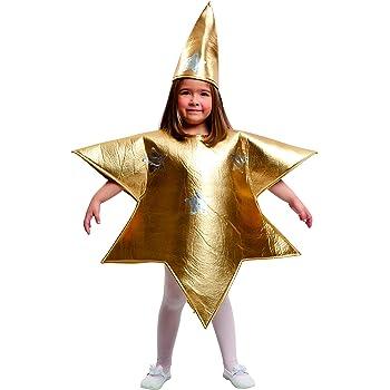 Guirca Disfraz de Estrella Plateada para Niños: Amazon.es ...
