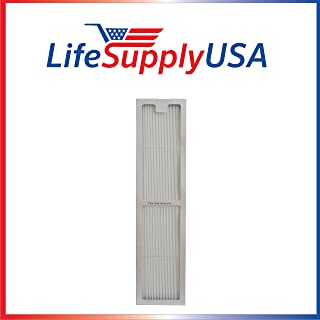 LifeSupplyUSA Replacement True HEPAtech Air Purifier Filter Compatible with Hunter 30973 30890 30891 30892 30895 30405