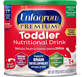 Enfagrow PREMIUM Toddler NUTRITIONAL DRINK, Vanilla Flavor - Powder Can, 24 oz