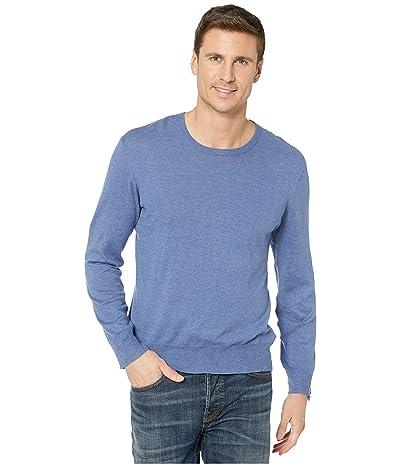 BLDWN Lesh Cotton/Linen Sweater (Worn Denim) Men