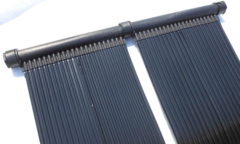 SPIRATO PD-01206 Calefacción Solar para Piscina, 3 m, Negro, 300 x 74 cm
