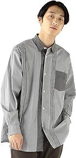 [ビームス] ワイシャツ カジュアルシャツ ブロード クレイジー ストライプ シャツ メンズ
