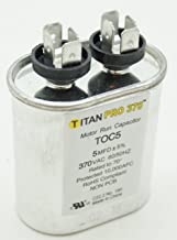 Packard TOC5 Motor Run Capacitor Oval / MFD: 5 / Volts: 370