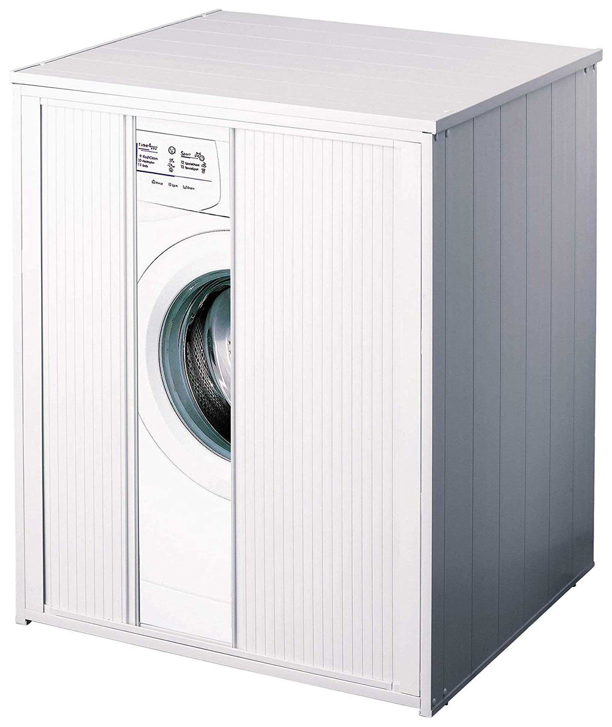 Mueble cubrelavadora XXL con pinza para todas las lavadoras ...