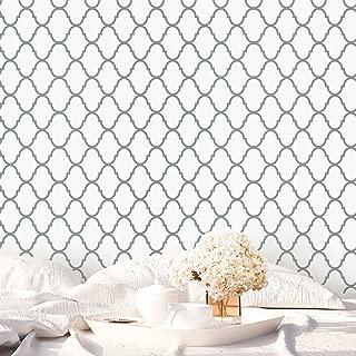 large trellis wallpaper