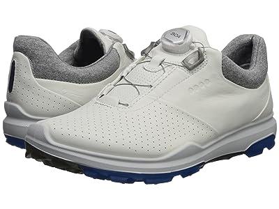 ECCO Golf Biom Hybrid 3 Boa (White/Dynasty) Men