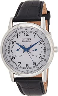Men's Eco-Drive Stainless Steel Casual Watch with Day/Date, AO9000-06B