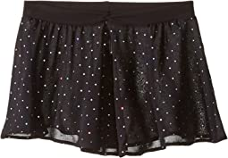 Georgette Sequin Dot Skirt (Little Kids/Big Kids)
