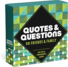 Knock Knock Quotes and Questions on Friends and Family: 100 Talk-Provoking Cards