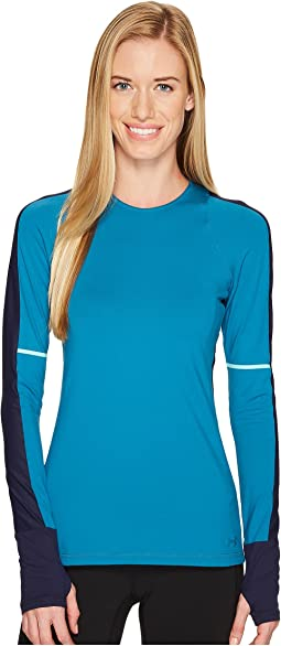 Mirror Long Sleeve Novelty Top
