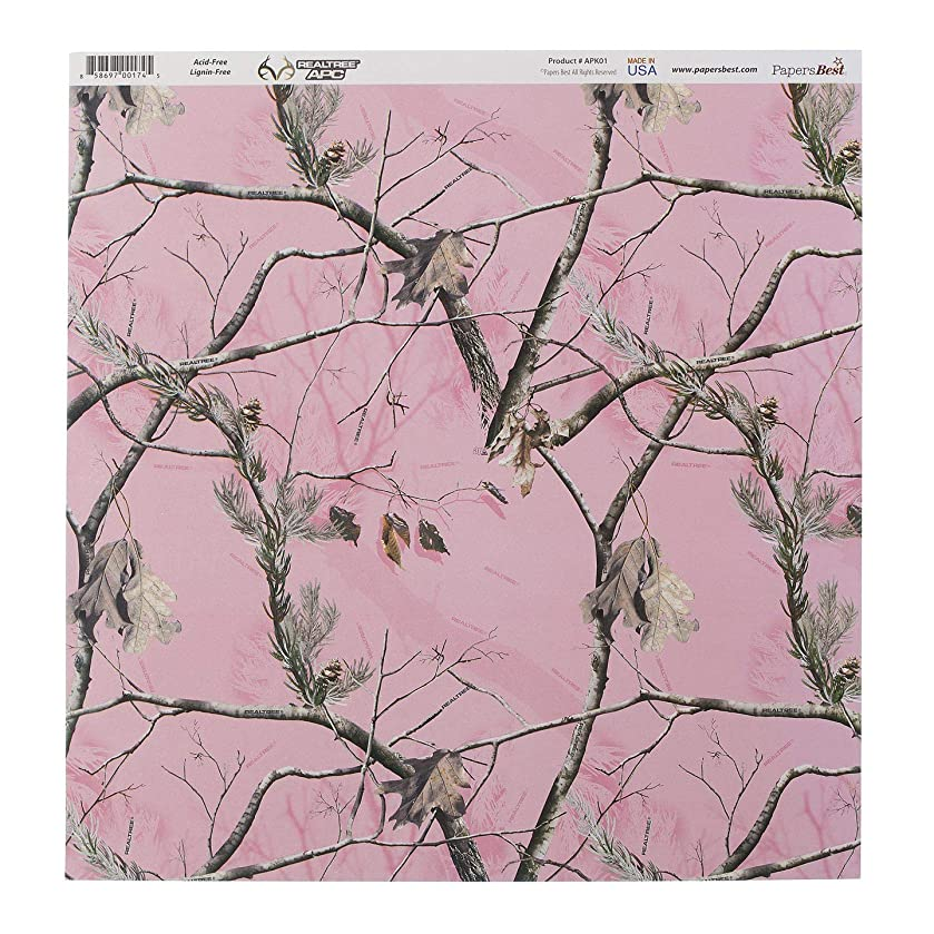 Papers Best Realtree APK01 Paper Camouflage Pink