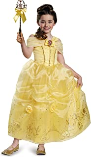 Belle Prestige Disney Princess Beauty & The Beast Costume, Medium/7-8