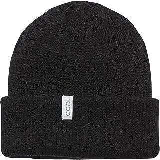 mens the Frena Fine Knit Striped Beanie Hat