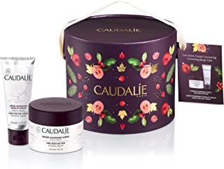 Caudalie Cocooning Body Care Set: Vine Body Butter 225ml/7.6oz + Hand and Nail Cream 75ml/2.5oz 2pcs