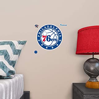 Fathead Peel and Stick Decals NBA Philadelphia 76ers Philadelphia 76ers: Teammate Logo - Officially Licensed NBA Removable Wall Decal - 89-02449