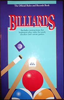 Billiards the Official Rules & Records Book 1995