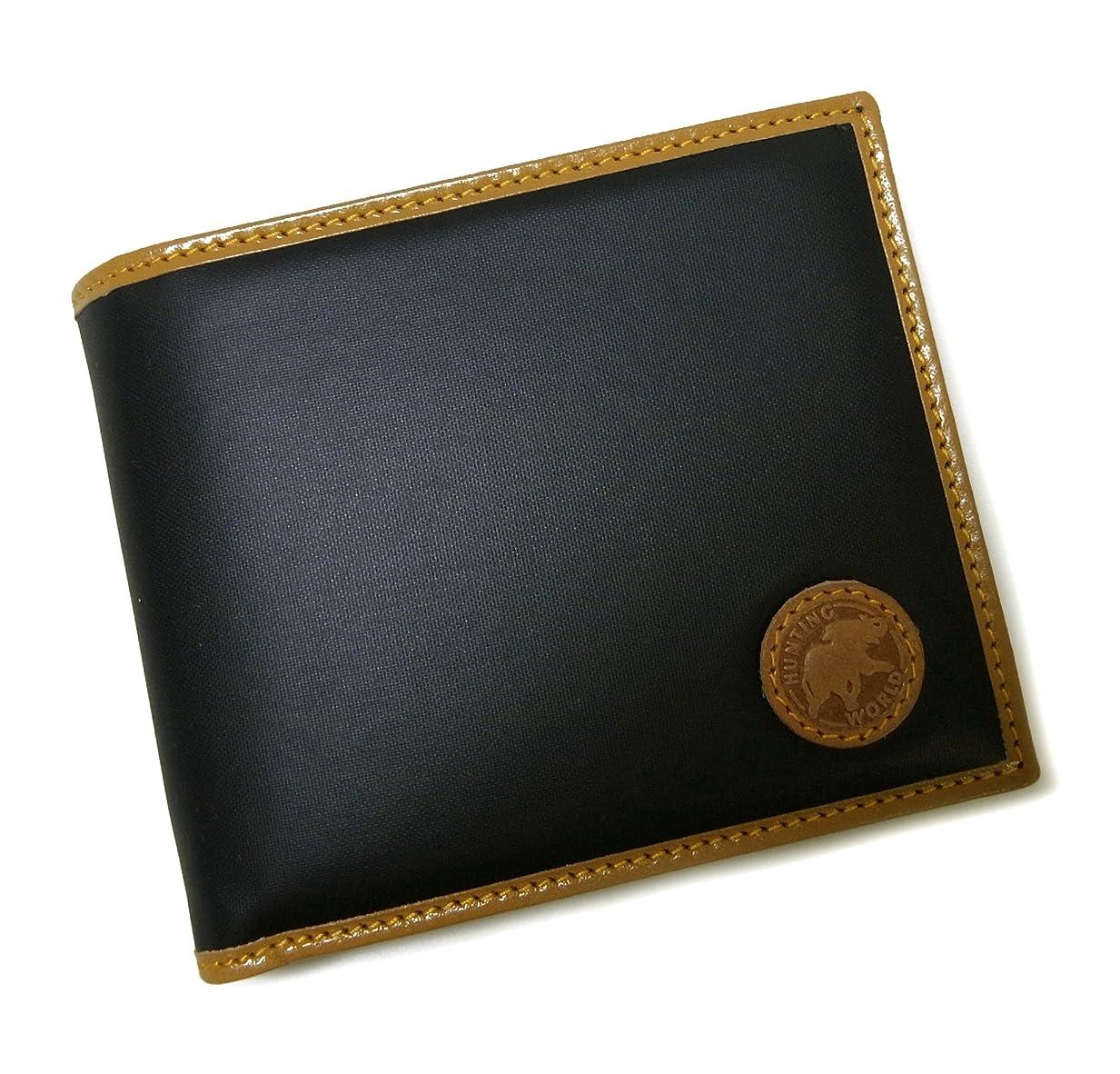 適合するインカ帝国剪断財布 バチュー BATTUE ORIGIN 二つ折 (ネイビー×ナチュラル) HW-480F [並行輸入品]