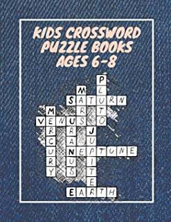 Kids Crossword Puzzle Books Ages 6-8: Crossword Heaven Ages 9 To 12 , Ages 8-11 , Puzzly Words