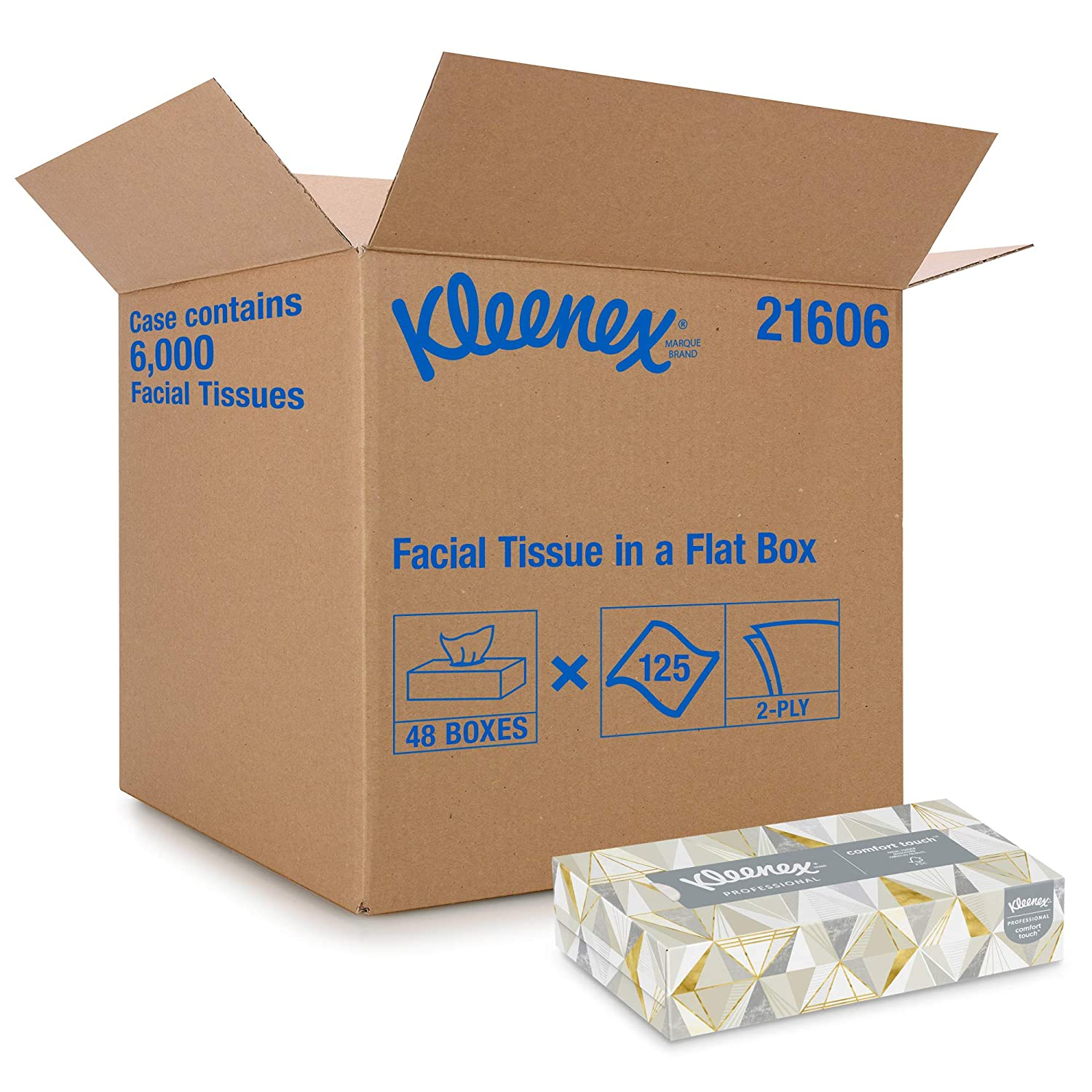 latest Kleenex Professional Facial Tissue for Business Ti 21606 Max 62% OFF Flat