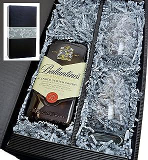 Ballantines 40% 0,7l Scotch Whisky - Set mit 2 Tumbler Gläser in Geschenkkarton
