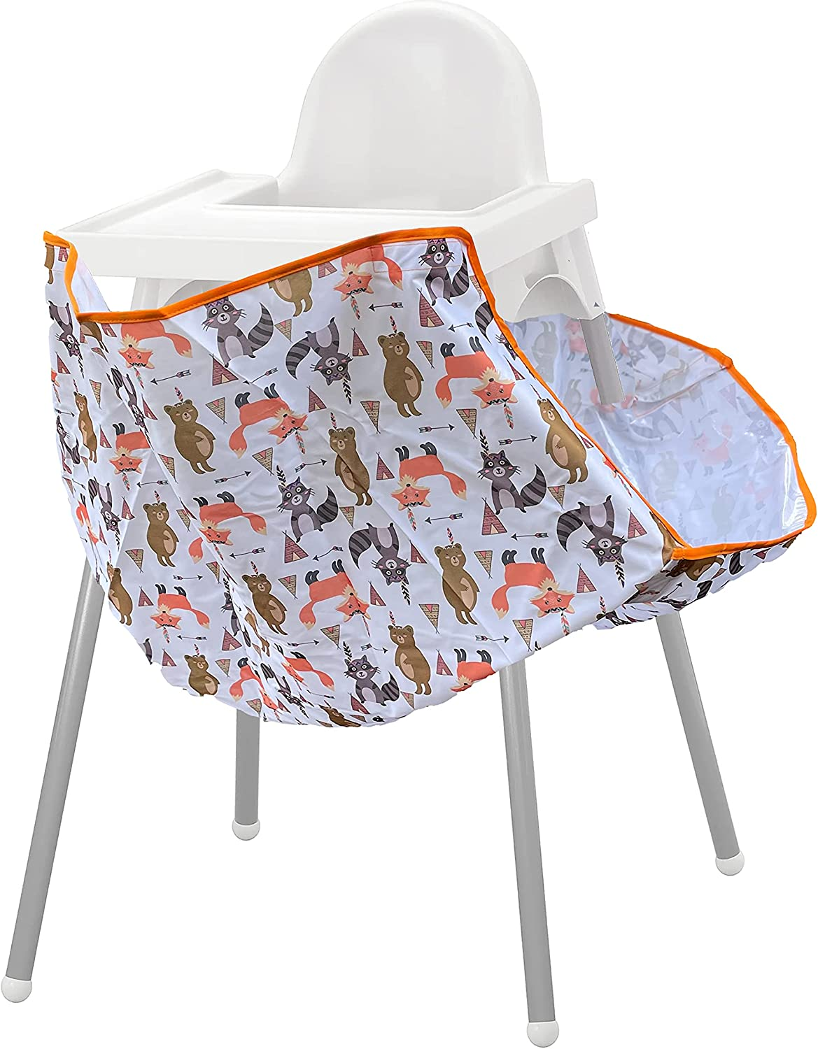 High Chair Food Catcher For Babies & Toddlers, Wipeable & Washable | Mumma's Little Helpers